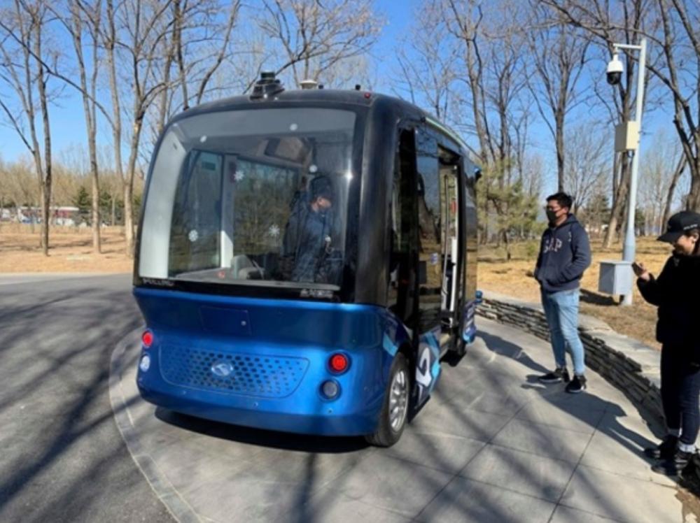 中国 完全自動運転バス